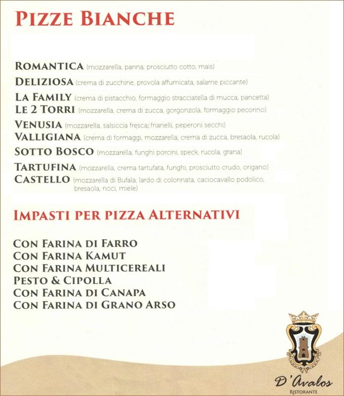 pizzeBianche